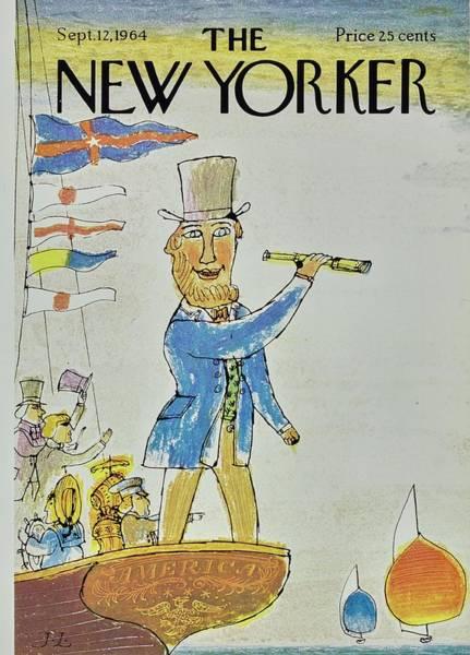 New Yorker September 12th 1964 Poster