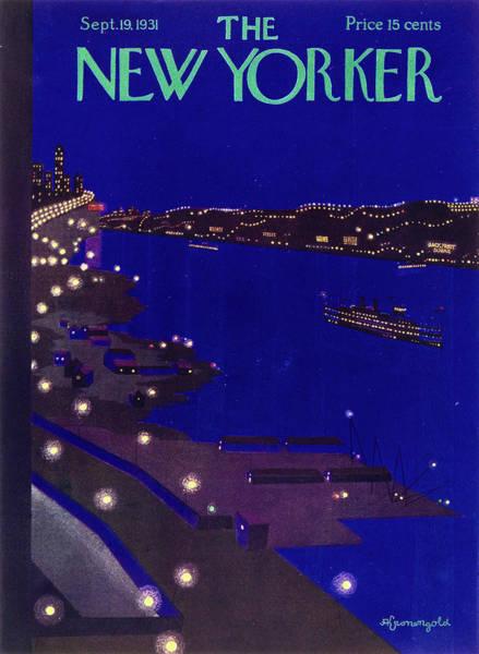 New Yorker September 19 1934 Poster