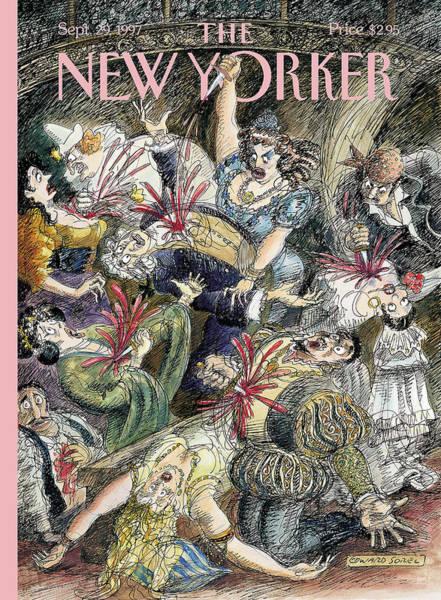 New Yorker September 29th, 1997 Poster