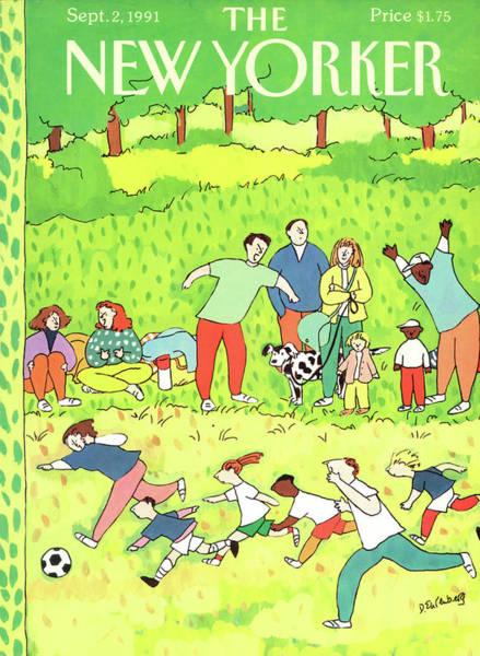 New Yorker September 2nd, 1991 Poster