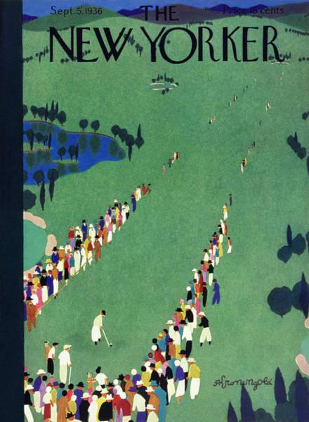 New Yorker September 5 1936 Poster