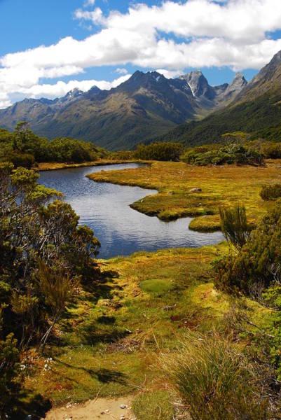 New Zealand Alpine Landscape Poster