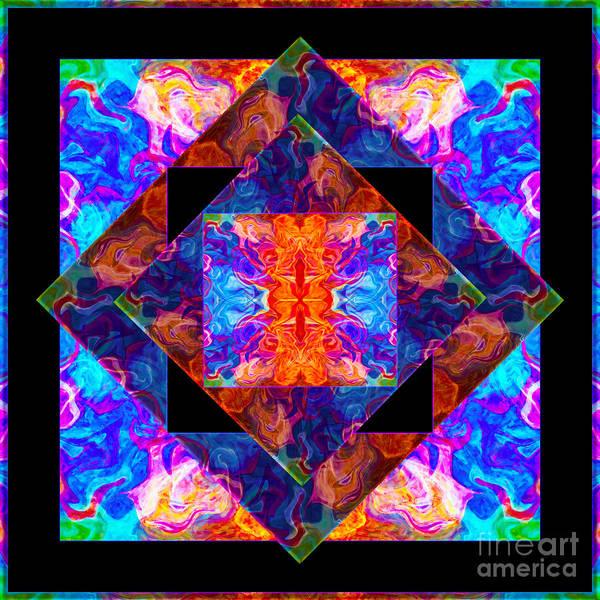 Newly Formed Bliss Mandala Artwork Poster