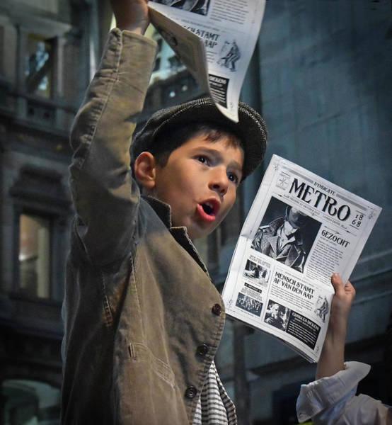 Newspaper Boys Poster