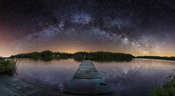 Night At The Lake  Poster