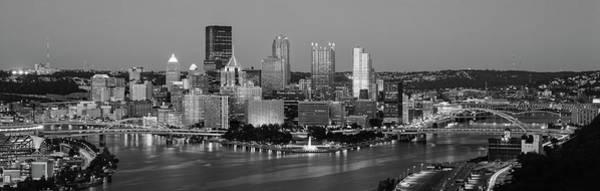 Night, Pittsburgh, Pennsylvania Poster