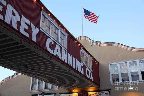Nightfall Over Monterey Cannery Row California 5d25163 Poster