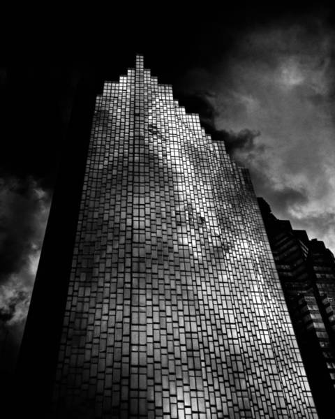 Poster featuring the photograph No 200 Bay St Rbp South Tower Toronto Canada by Brian Carson