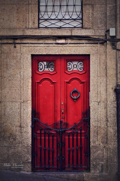 No. 24 - The Red Door Poster