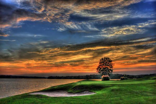 No Better Day Golf Landscape Art Poster