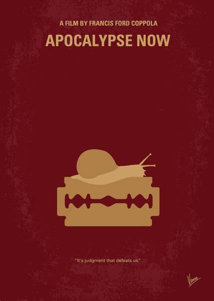 No006 My Apocalypse Now Minimal Movie Poster Poster