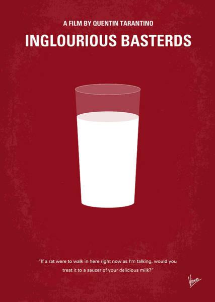 No138 My Inglourious Basterds Minimal Movie Poster Poster