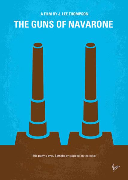 No168 My The Guns Of Navarone Minimal Movie Poster Poster