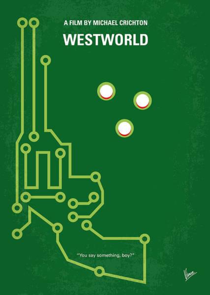 No231 My Westworld Minimal Movie Poster Poster