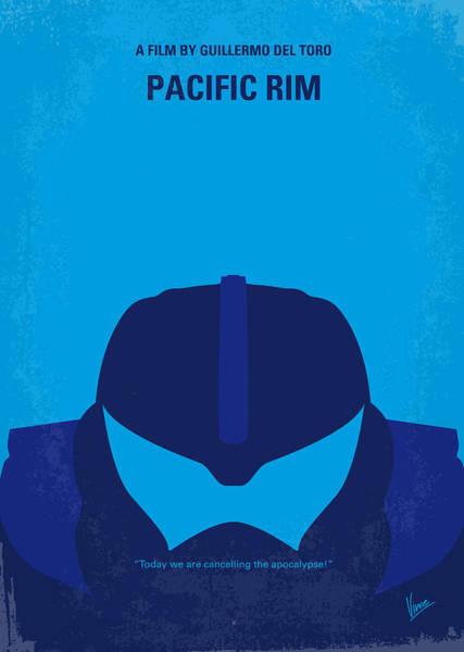 No306 My Pacific Rim Minimal Movie Poster Poster
