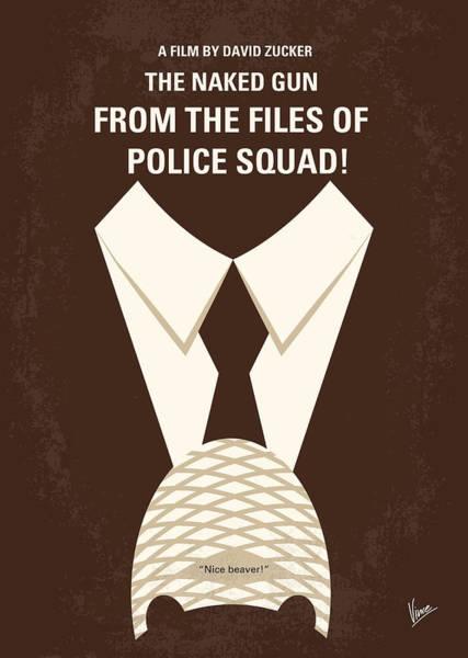 No432 My The Naked Gun Minimal Movie Poster Poster