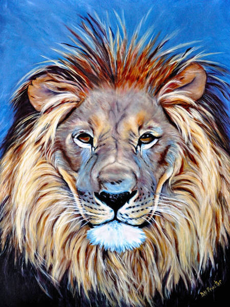 Poster featuring the painting Noble Pride by Donna Proctor