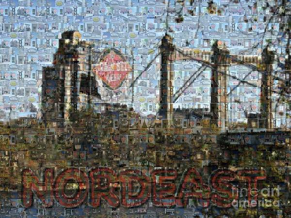 Nordeast Mosaic Poster