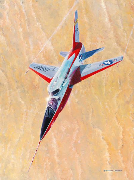 North American F-107a Ultra Sabre Poster