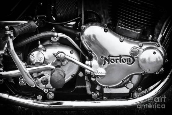 Norton Commando 850 Engine Poster