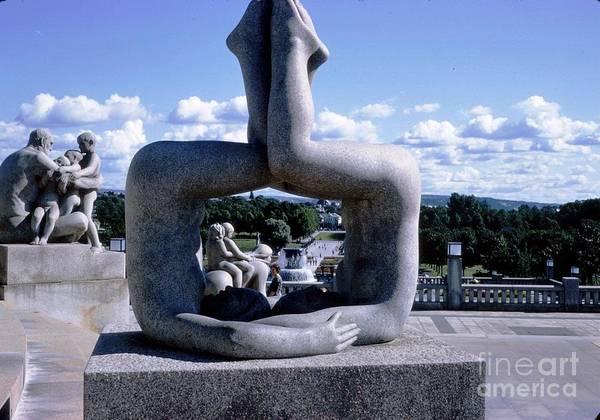 Norway Frogner Park Poster