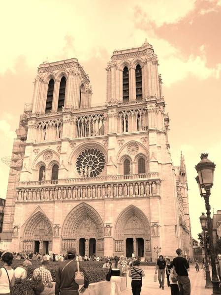 Notre Dame Cathedral Poster