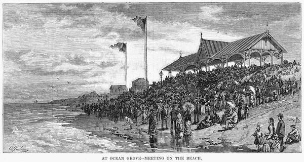 Ocean Grove, 1879 Poster