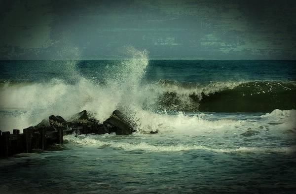 Ocean Impact - Jersey Shore Poster