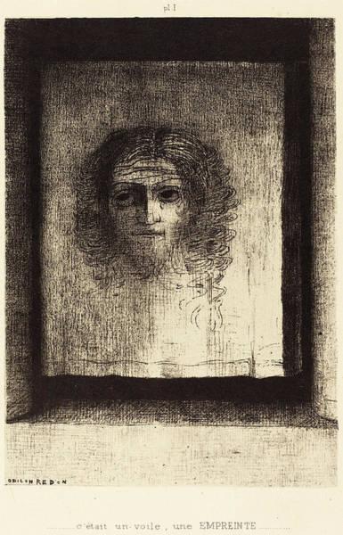 Odilon Redon French, 1840 - 1916, Cetait Un Voile Poster
