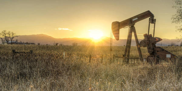 Oil Well Pump Poster