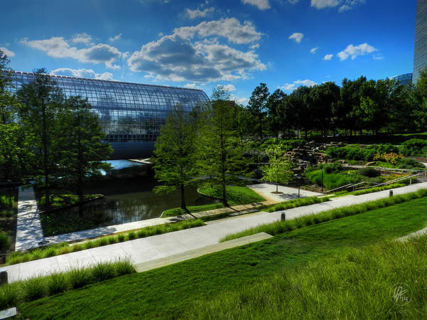 Oklahoma City - Myriad Botanical Gardens 001 Poster