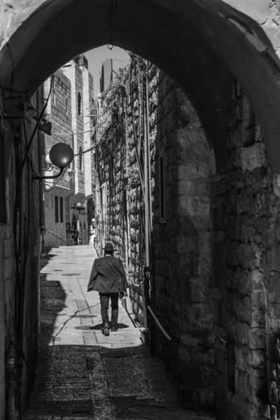 Old City Jerusalem Streets Poster