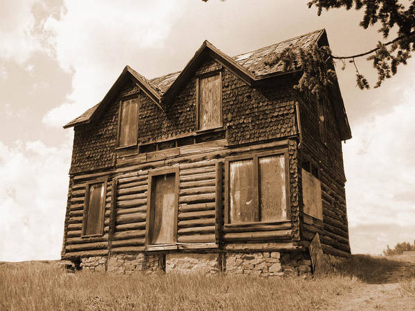 Old Cripple Creek Cabin Poster