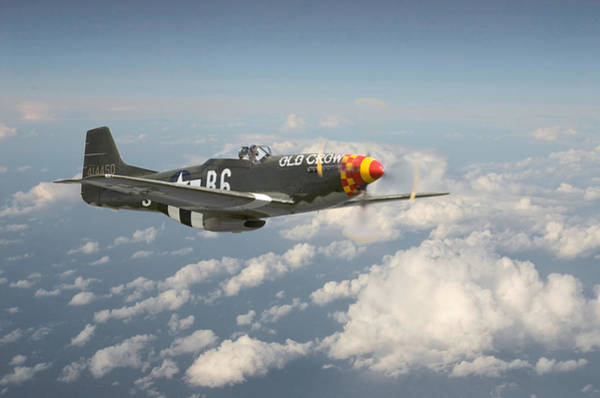 P51 Mustang - 'old Crow' Poster