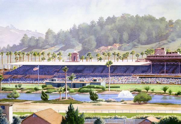 Old Del Mar Race Track Poster
