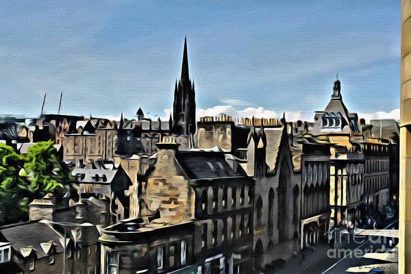 Olde Edinburgh Poster