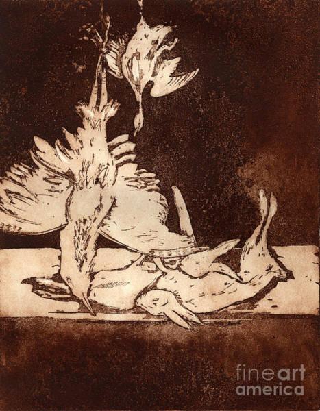 Old Masters Still Life - With Great Bittern Duck Rabbit - Nature Morte - Natura Morta - Still Life Poster