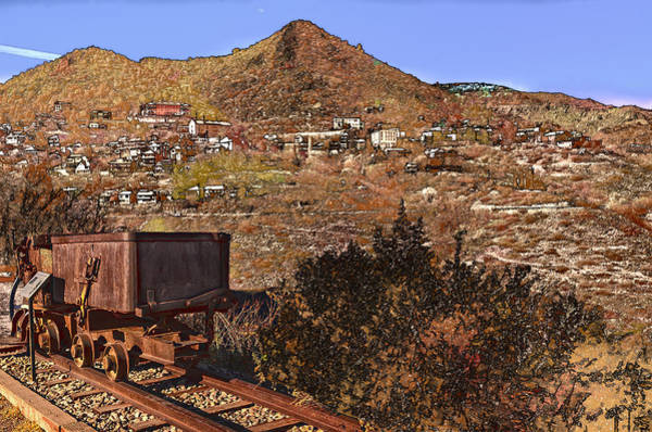 Old Mining Town No.24 Poster