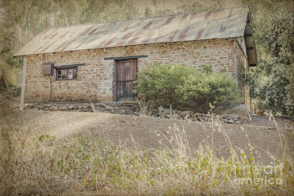 Old Stone Cottage Poster