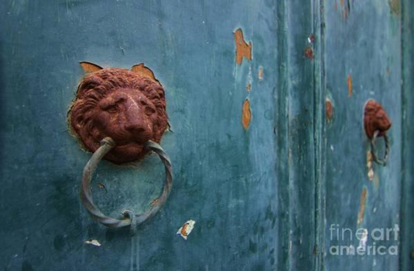 Old Venetian Door Knocker Poster