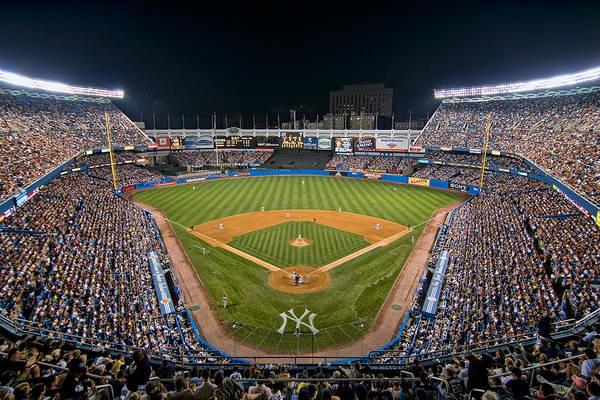 Old Yankee Stadium Poster