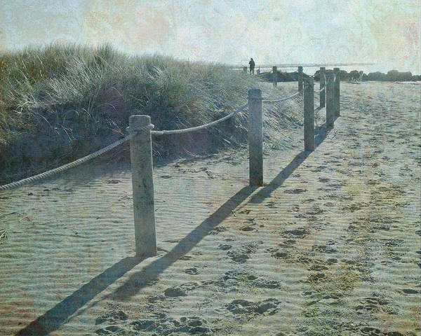 Olde Worlde Beach Poster
