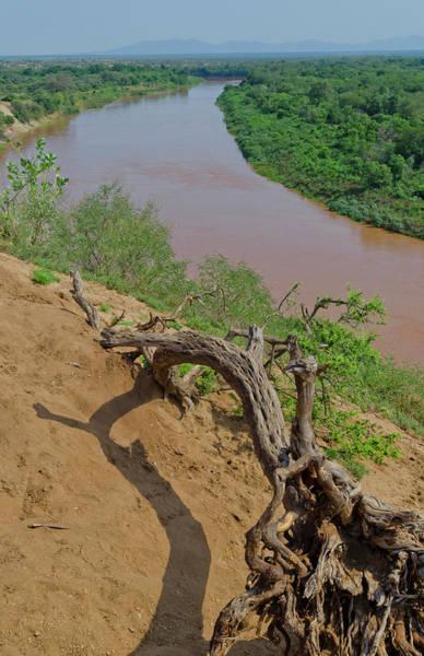 Omo River In Omorate, Ethiopia Poster