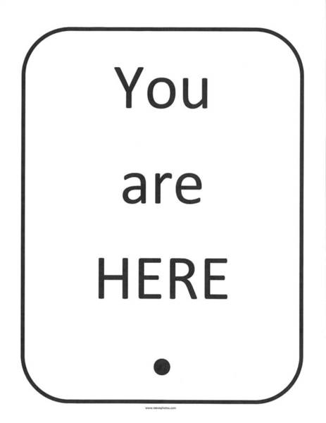 One To Ponder - You Are Here Poster
