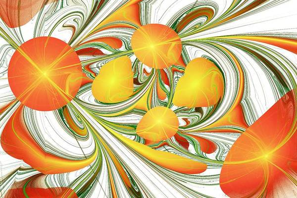 Orange Attitude Poster