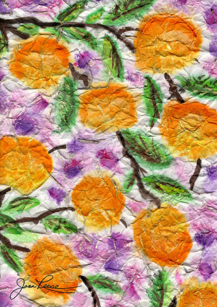 Orange Blossoms Poster