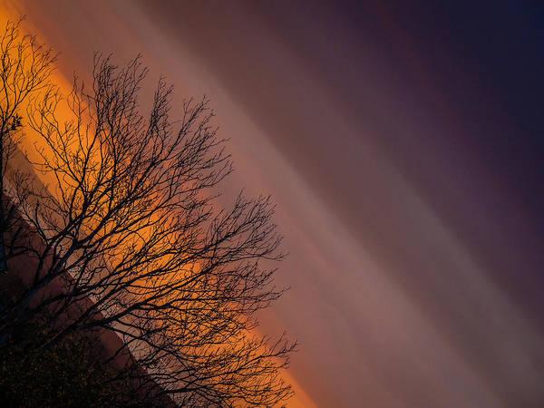Orange Sunrise Poster