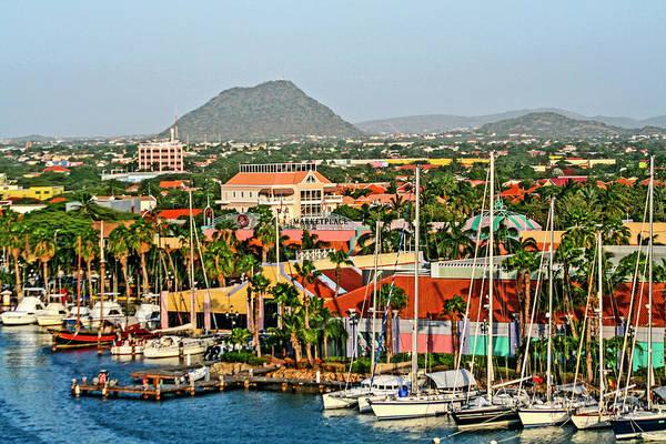 Oranjestad, Aruba Poster