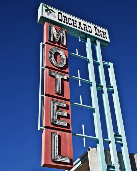 Poster featuring the photograph Orchard Inn Motel by Gigi Ebert