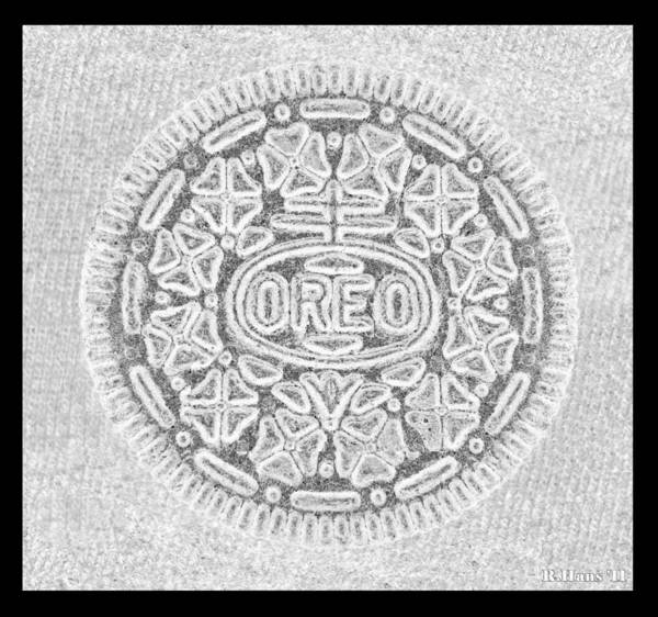 Oreo In Grey Poster